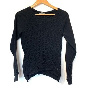 Smartwool baselayer textured fitted merino sweater